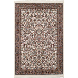 eCarpetGallery Persian Collection Kashan Ivory Rug (6'7 x 9'10)