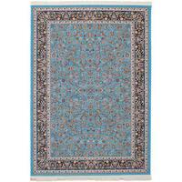 eCarpetGallery Persian Collection Nain Blue/Brown Area Rug - 6'7 x 9'10