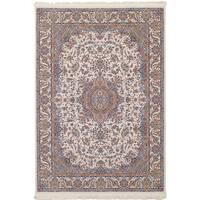 eCarpetGallery Persian Collection Tabriz Ivory Rug - 4'11 x 7'5