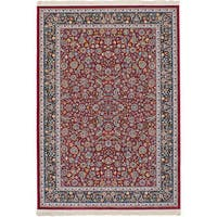 eCarpetGallery Persian Collection Nain Red Power-loomed Area rug - 4'11 x 7'5