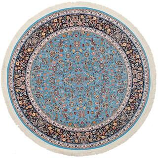 eCarpetGallery Persian Collection Nain Blue Rug (6'7 x 6'7)
