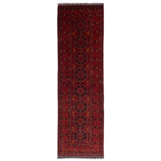 eCarpetGallery Hand-Knotted Finest Khal Mohammadi Red Wool Rug (2'8 x 9'8)