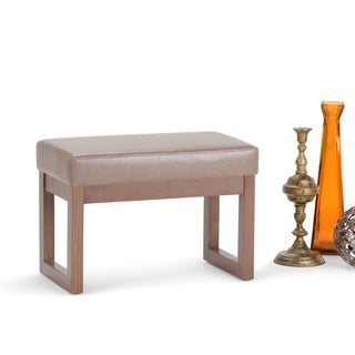 Link to WYNDENHALL Madison 26 inch Wide Contemporary Rectangle Ottoman Bench Similar Items in Ottomans & Storage Ottomans