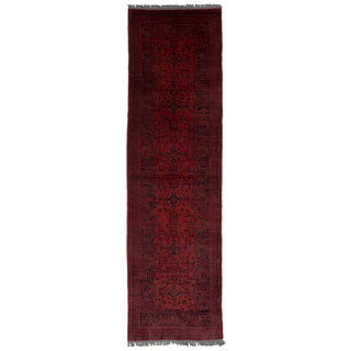 eCarpetGallery Hand-Knotted Finest Khal Mohammadi Red Wool Rug (2'6 x 9'6)