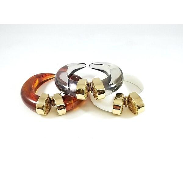 Kenneth Jay Lane Gold Free Form Cuff Gold h3JBsd