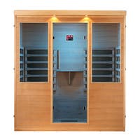 Whistler 4-Person FIR Sauna with 12 Carbon Infrared Heaters