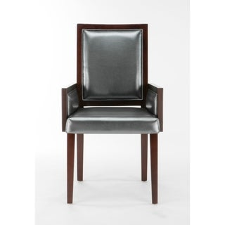 Ceets Legacy Grey Faux Leather/Wood Dining Chair