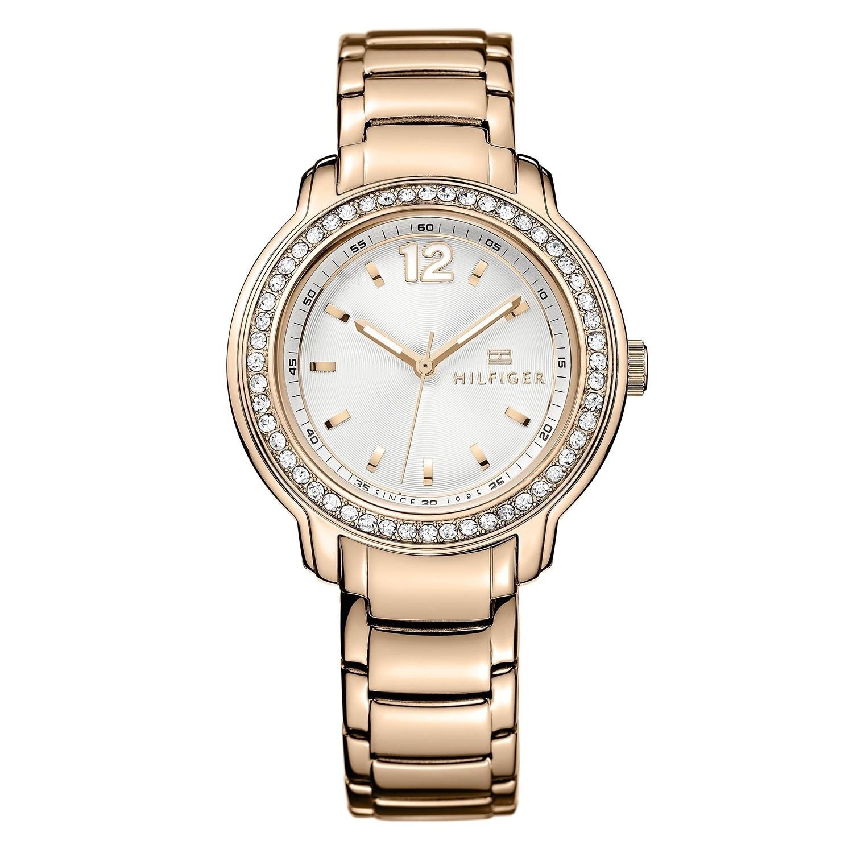 Tommy Hilfiger Callie 1781468 Women's Watch, Silver-Tone,...