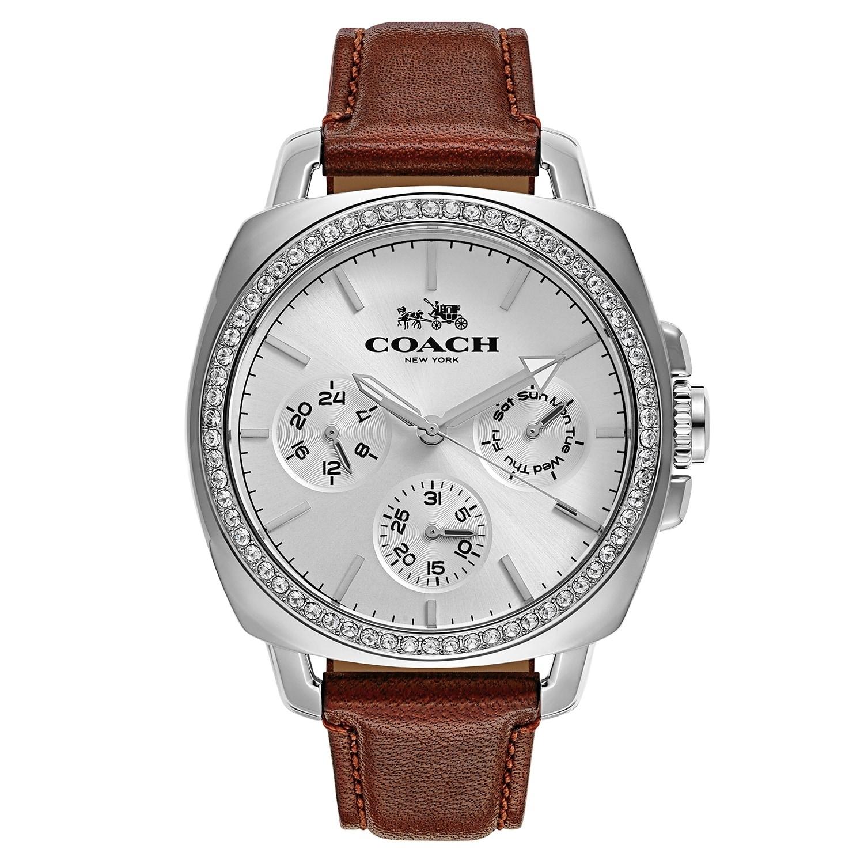 Coach Boyfriend 14502083 Women's Watch, Silver-Tone, Size...