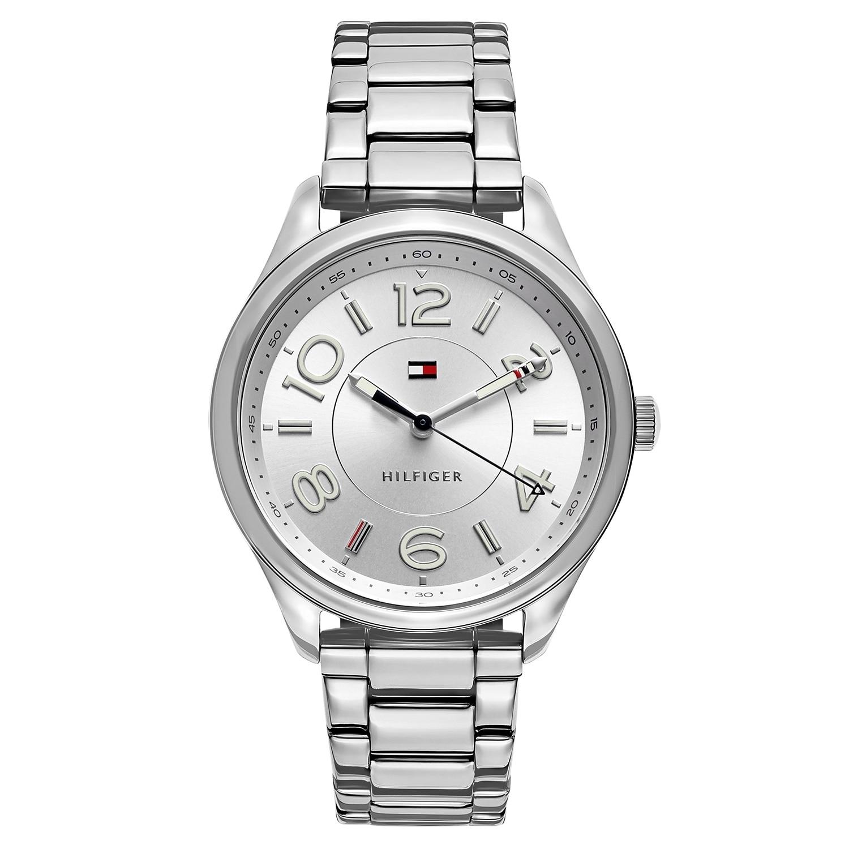 Tommy Hilfiger Sofia 1781672 Women's Watch, Silver-Tone, ...