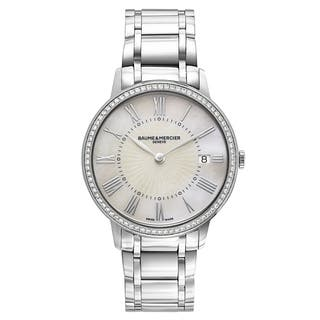 Baume and Mercier Classima Executives MOA10227 Women's Watch|https://ak1.ostkcdn.com/images/products/18574552/P24677232.jpg?impolicy=medium