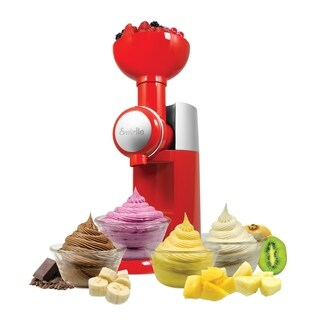 Big Boss Swirlio Smoothie and Frozen Dessert Maker with Topping Dispenser