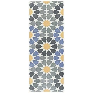 SomerTile 5.875x15.75-inch Margot Star Ceramic Floor and Wall Tile (16/Case, 10.89 sqft.)|https://ak1.ostkcdn.com/images/products/18581637/P24677250.jpg?impolicy=medium