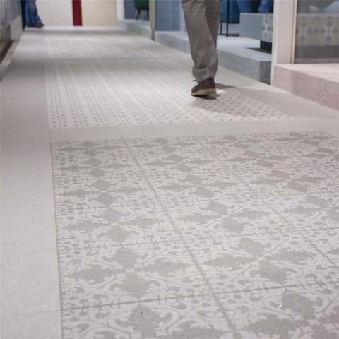 SomerTile 11.5x11.5-inch Piacenza Molise Grafito Porcelain Floor and Wall Tile (11 tiles/10.55 sqft.)