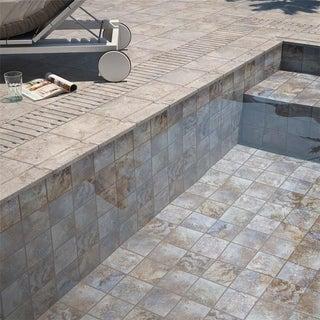 SomerTile 6x6-inch Oceano Azul Sea Porcelain Floor and Wall Tile (33/Case, 8.95 sqft.)