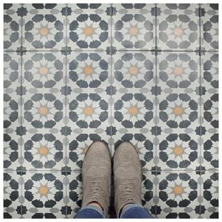 SomerTile 5.875x15.75-inch Margot Sun Ceramic Floor and Wall Tile (16/Case, 10.89 sqft.)