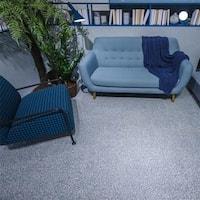 SomerTile 11.5x11.5-inch Piacenza Amalfi Azul Porcelain Floor and Wall Tile (11 tiles/10.55 sqft.)