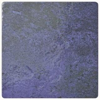 SomerTile 6x6-inch Oceano Blue Laguna Porcelain Floor and Wall Tile (33/Case, 8.95 sqft.)