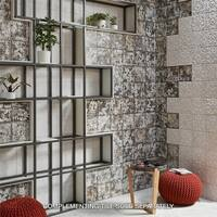 SomerTile 7.875x7.875-inch Aeon White Ceramic Wall Tile (25 tiles/11.46 sqft.)