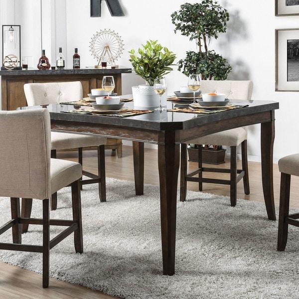 Shop Copper Grove Glavinitsa Celestite-top Dark Oak Table