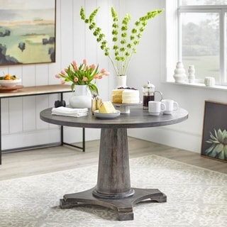 Angelo:HOME Ariane Dining Table   Grey   N/A