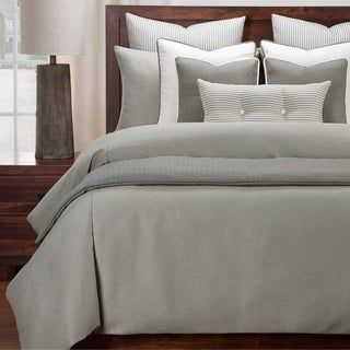 Revolution Plus Everlast Greige Stain Resistant Duvet Set