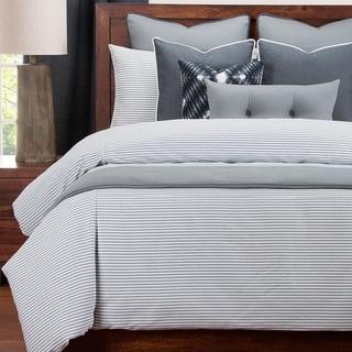 Link to Revolution Plus Everlast Stripe Navy Stain Resistant Duvet Set Similar Items in Duvet Covers & Sets