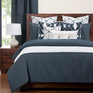 Revolution Plus Everlast Navy Stain Resistant Duvet Set