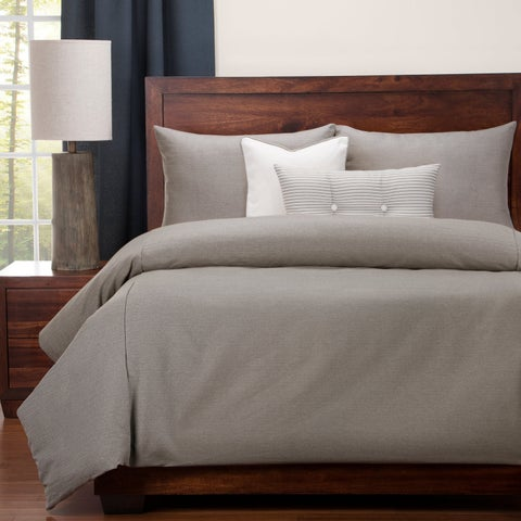 Revolution Plus Everlast Herringbone Stain Resistant Duvet Set