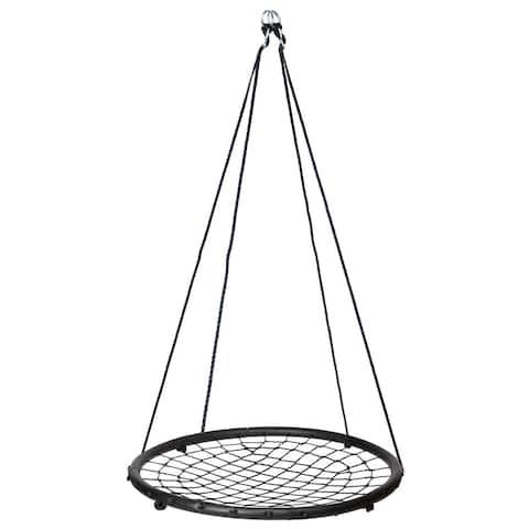 """Web Spinner Swing 40"""" diameter - black"""