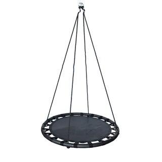 """Fabric Spinner Swing 40"""" diameter - black"""