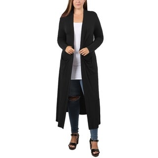 JED Women's Plus Size Maxi Cardigan with Pockets|https://ak1.ostkcdn.com/images/products/18588609/P24690016.jpg?_ostk_perf_=percv&impolicy=medium