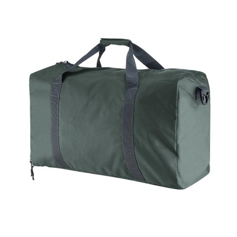"Duffle Gym Bag - Luggage Tote for Overnight / Weekend Trips - by Wakeman Outdoors (GREEN/24"")"