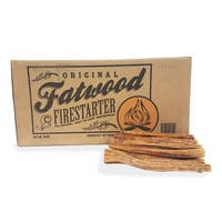 Fatwood Firestarter Kindling Sticks – Quickstart Tinder by Pure Garden, 25 lb. Box
