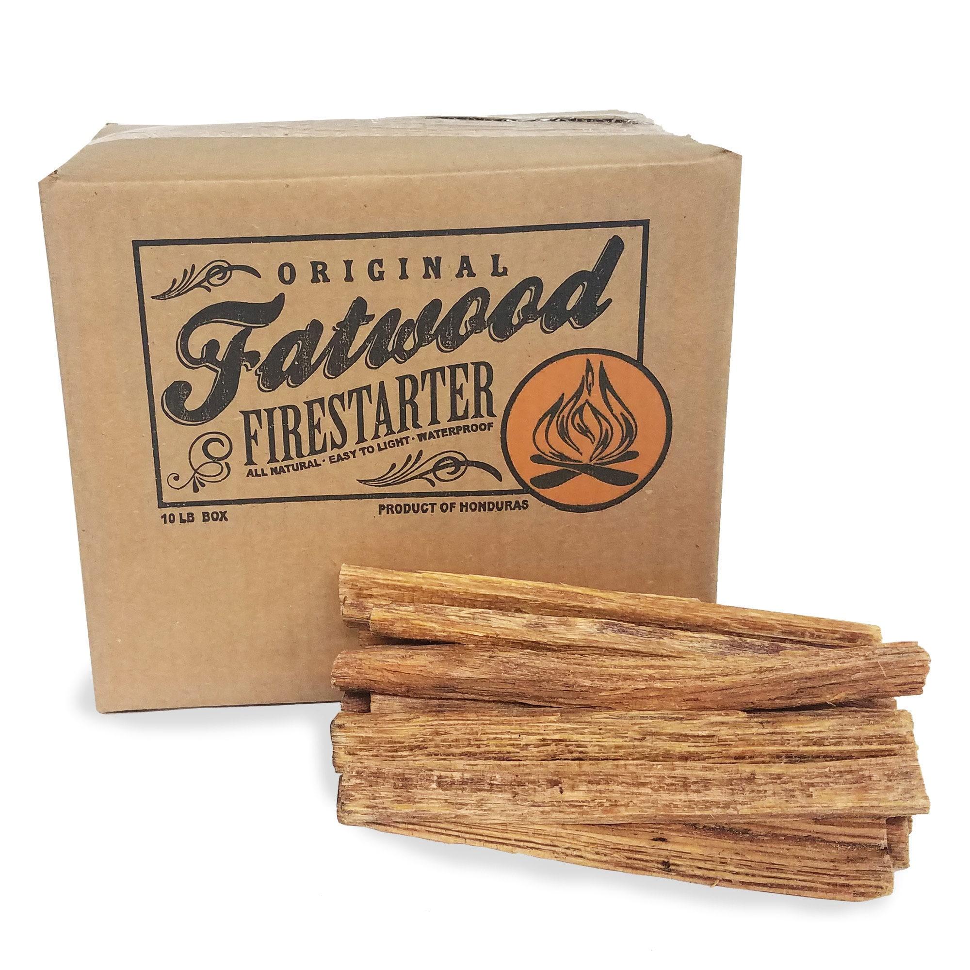 Fatwood Firestarter Kindling Sticks – Quickstart Tinder b...