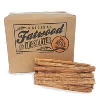 Fatwood Firestarter Kindling Sticks – Quickstart Tinder by Pure Garden, 10 lb. Box