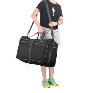 Duffle Gym Bag - Luggage Tote by Wakeman Outdoors|https://ak1.ostkcdn.com/images/products/18588647/P24690043.jpg?impolicy=medium