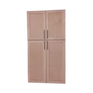 Village BP Recessed Four Door Frameless Pantry cabinet