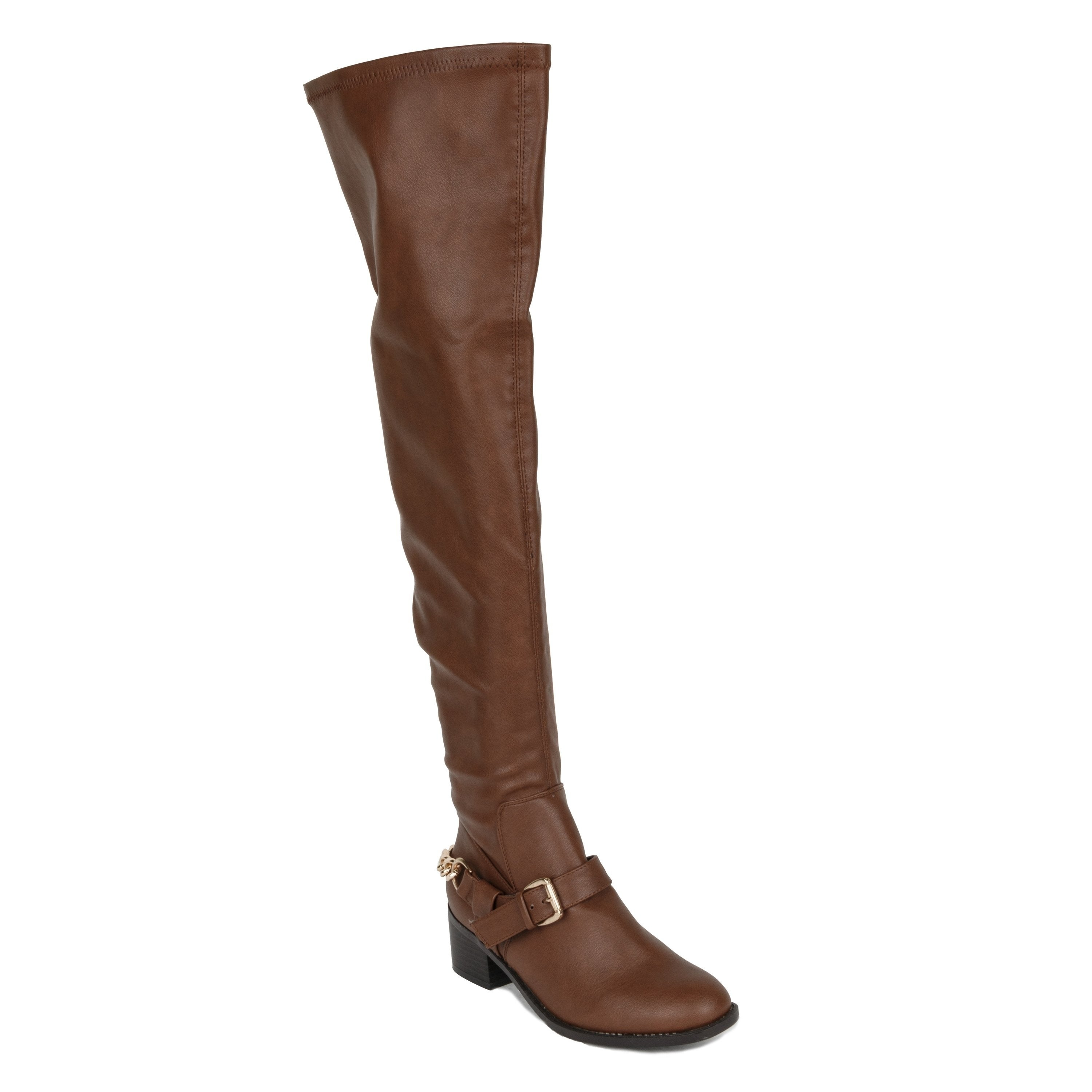 Xehar Womens Over The Knee Thigh High Buckle Riding Boots...