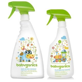 Babyganics Stain & Odor Remover with Toy/Highchair Cleaner