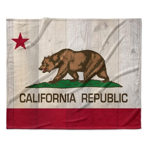 40 x 30 KESS InHouse Bruce Stanfield Flag of USA Contemporary Digital Fleece Baby Blanket