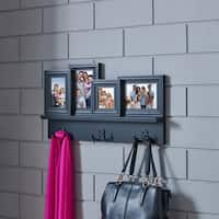 Danya B. Wall Hanging Hooks with Built in Photo Frames