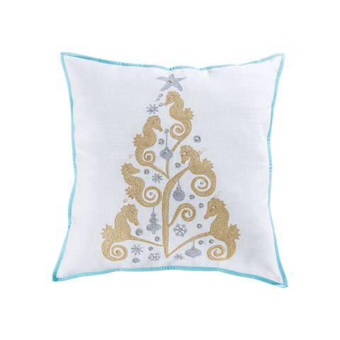 Pomeroy Coastal Christmas Pillow