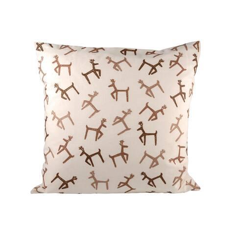 Pomeroy Dancing Reindeer Pillow