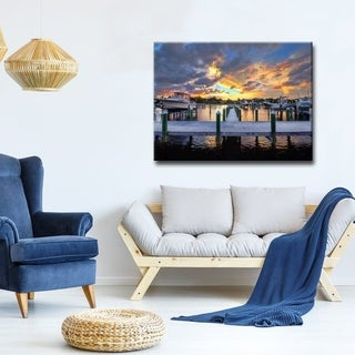 Ready2HangArt 'Fusion' Coastal Canvas Wall Art