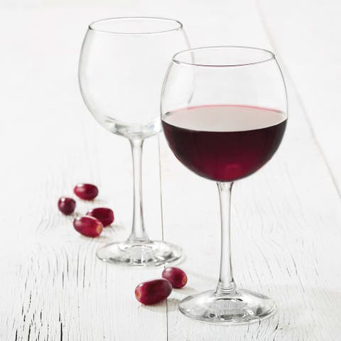 Libbey Midtown Red Wine Glasses, Set of 8
