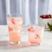 Libbey Flare 16-Piece Tumbler and Rocks Glass Set