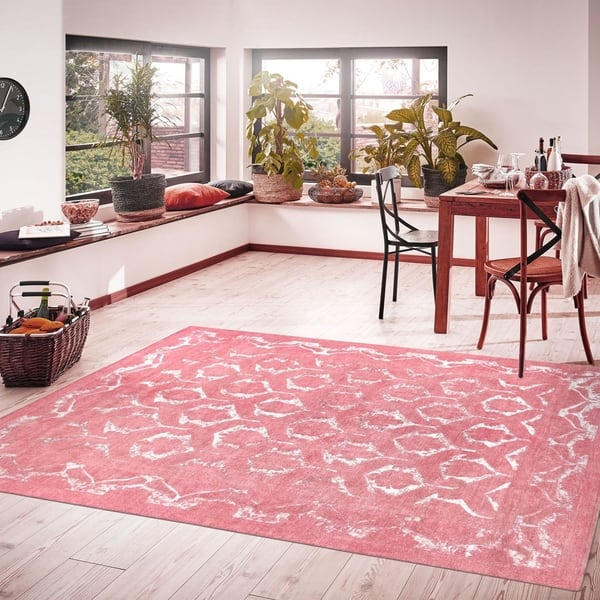 Pasargad Overdyes Collection Coral Wool Area Rug 8 8 X 11 11 9 X 12 On Sale Overstock 18590817