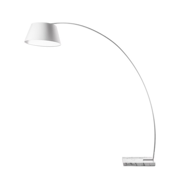 Lumenno Modern 1-light White Floor Lamp