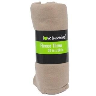 """Imperial Home Premium Super Soft Cozy Fleece Throw Blanket - 50"""" x 60"""" Fleece Blanket"""
